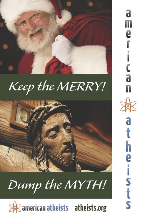 Familiäre Weihnachtsgrüße.New York Atheistische Weihnachtsgrüße Atheismus Info 1200