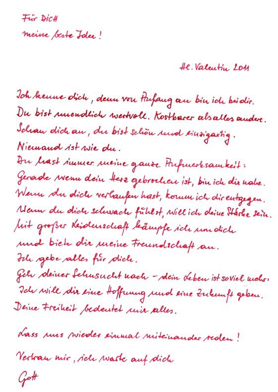 Am Valentinstag 2011 Schrieb Der Wiener Diözesangott In Leicht Nach  Rechtsunten Abfallender Schreibeschrift 100.000 Briefe An Das Volk (siehe  Auch Info 405) ...